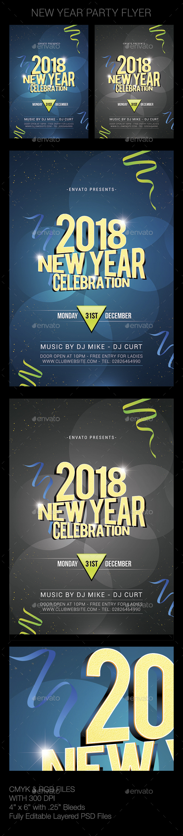 GraphicRiver New Year 21006472
