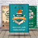 Christmas & Happy New Year Flyer Bundle - GraphicRiver Item for Sale