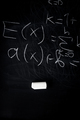 Part of maths formulas written by white chalk on the blackboard background. - PhotoDune Item for Sale