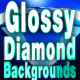 Glossy Diamond Backgrounds - VideoHive Item for Sale