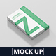 Box Mockup - Medium Size Flat Rectangle