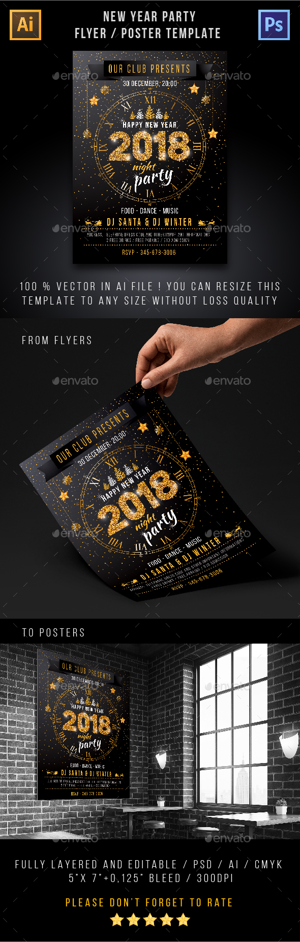 GraphicRiver New Year Party 21006893