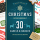 Christmas 30 Labels and Badges - GraphicRiver Item for Sale