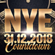 Nye Countdown Party Flyer - GraphicRiver Item for Sale