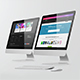Imac / Desktop Screen Mockup
