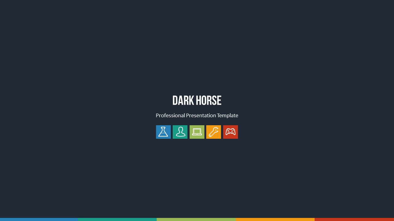 Dark Horse Powerpoint Template By Loveishkalsi Graphicriver