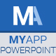 MyApp Powerpoint Template - GraphicRiver Item for Sale