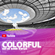 Colorful YouTube Banner Template - GraphicRiver Item for Sale
