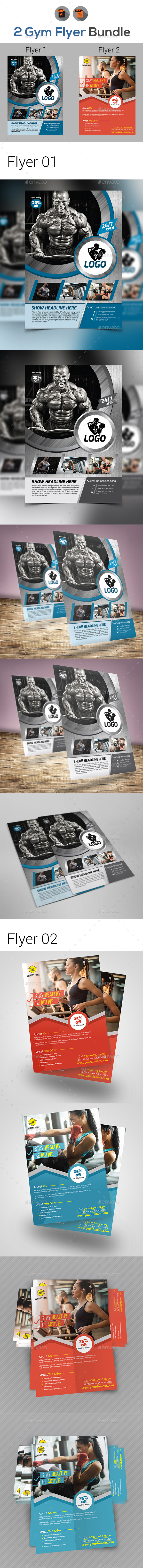 Fitness | Gym Flyer Bundle - Sports Events