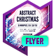 Club Flyer: Abstract Christmas