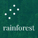 Rainforest Landing Page PSD Template