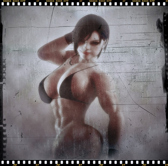 Jill Valentine MUSCLE - 3DOcean Item for Sale