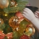 Little Girl Decorating the Christmas Tree - VideoHive Item for Sale