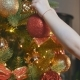 Child Decorating the Christmas Tree - VideoHive Item for Sale