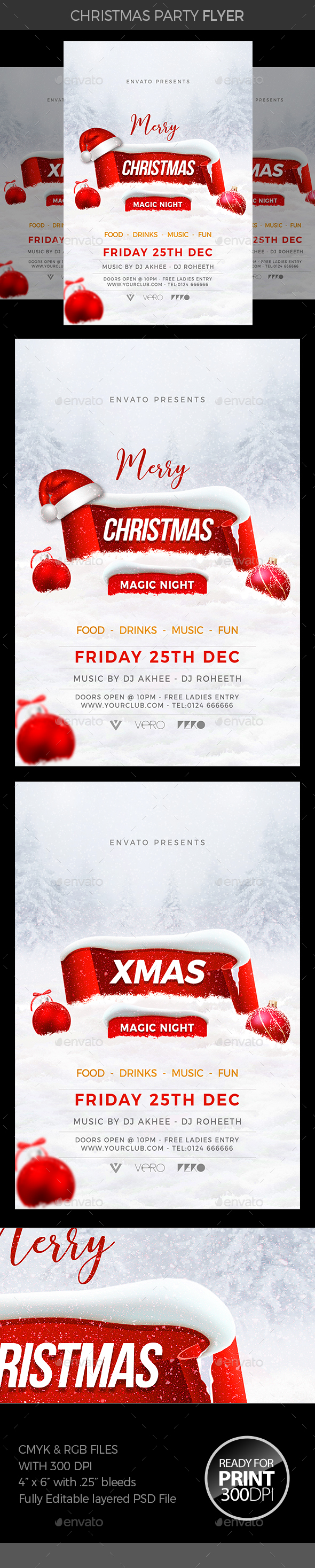 GraphicRiver Christmas Party 21008271