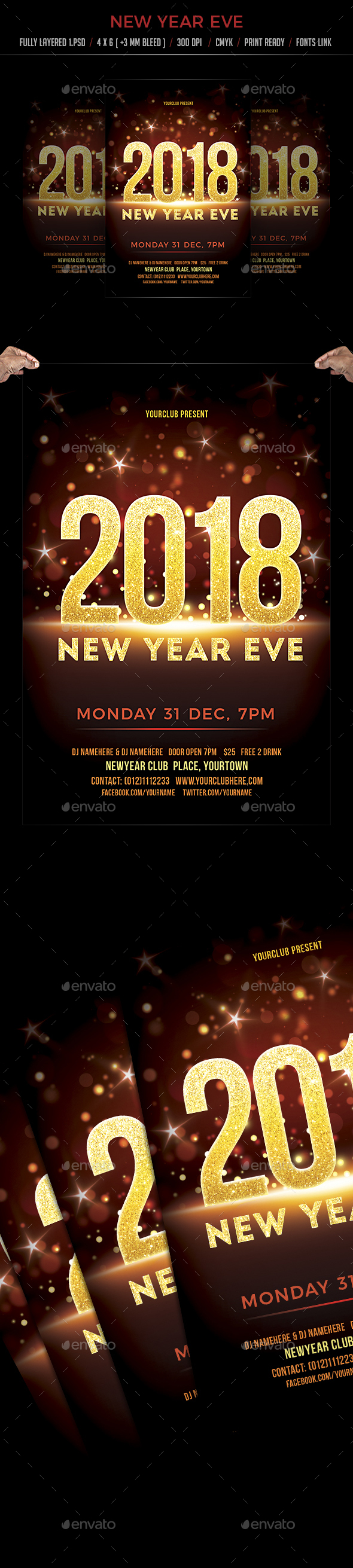 GraphicRiver New Year Eve 21008383