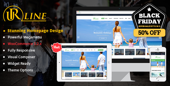 Urline - Creative WordPress Travel News And Magazine Theme - News / Editorial Blog / Magazine