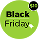 Black Friday - Bootstrap Responsive template for deals & coupon codes