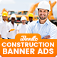 Construction Banners Ads