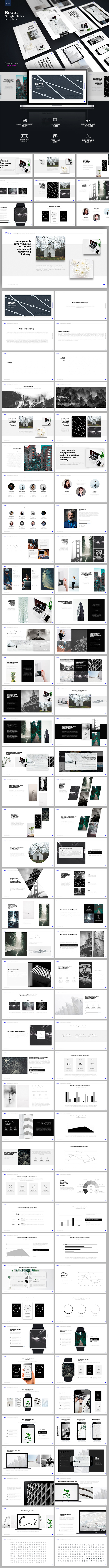 Beats Google Slides - Google Slides Presentation Templates