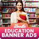 Education Training Banners Ads