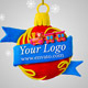 Merry Christmas Ball - VideoHive Item for Sale