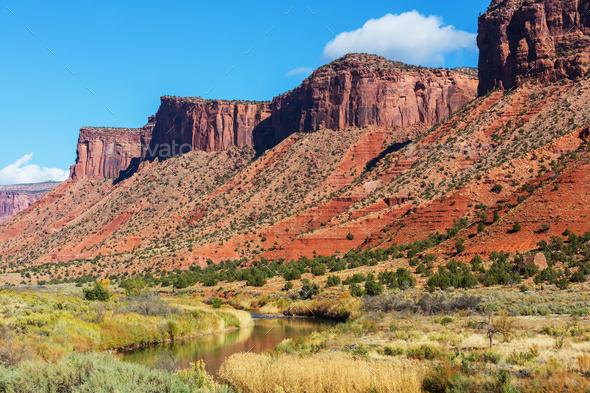 Colorado landscapes - Stock Photo - Images