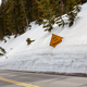 Road of snow wall - PhotoDune Item for Sale