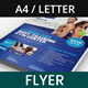Gym Fitness Promotional Flyer