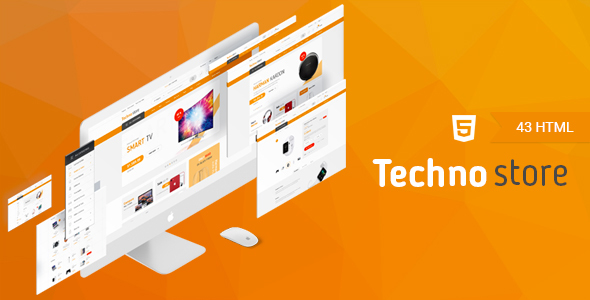 ThemeForest Techno Store Electronic eCommerce HTML Template 20903064