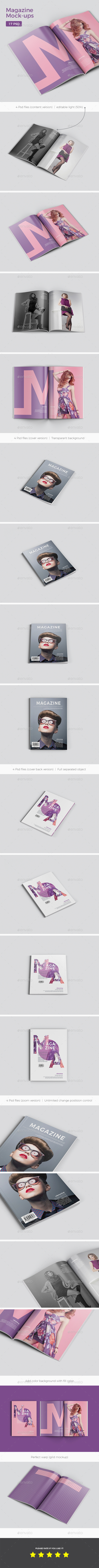GraphicRiver Magazine Mockup 21009095