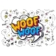 Woof in Word Bubble - GraphicRiver Item for Sale