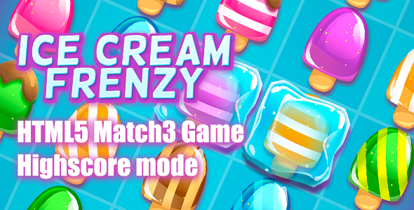 Ice Cream Frenzy - CodeCanyon Item for Sale