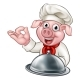 Pig Chef Cartoon Character - GraphicRiver Item for Sale