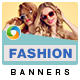 Fashion Sale HTML5 Banners- 7 Sizes
