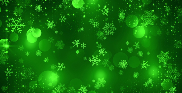 green christmas background by as 100 videohive