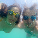 Couple having fun underwater in the sea - PhotoDune Item for Sale