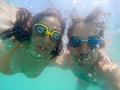 Couple having fun underwater in the sea - PhotoDune Item for Sale