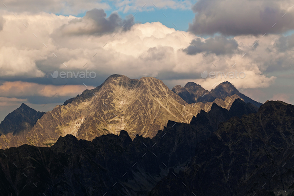 View on high Tatra Mountains - Stock Photo - Images