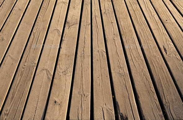 Wood panel background texture in vintage style - Stock Photo - Images