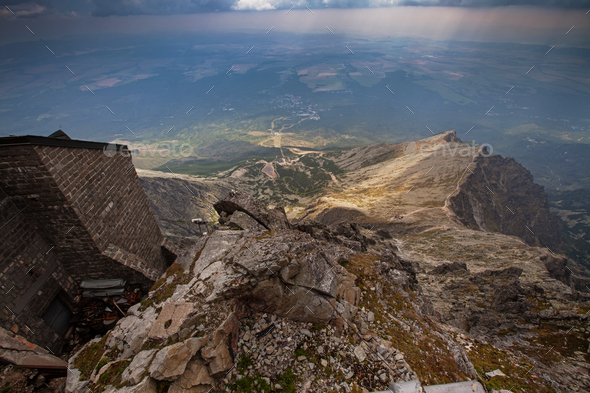 Photo of beautiful High Tatra Mountains, Slovakia, Europe - Stock Photo - Images