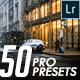 50 Professional Lightroom Templates