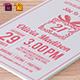 Birthday Party Invitation Template - Vol . 13 - GraphicRiver Item for Sale