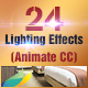 24 Light Effects (Adobe Animate CC)