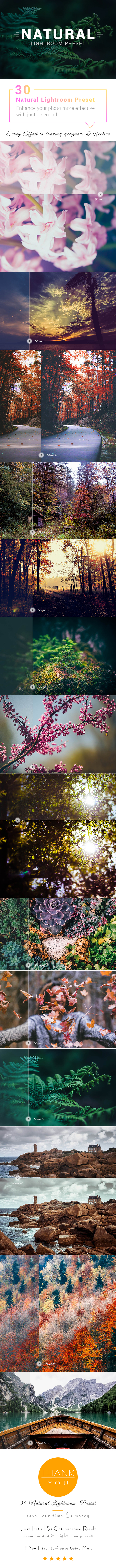 Natural Lightroom Effects - Landscape Lightroom Presets