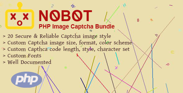 NoBot - PHP Image Captcha Bundle - CodeCanyon Item for Sale