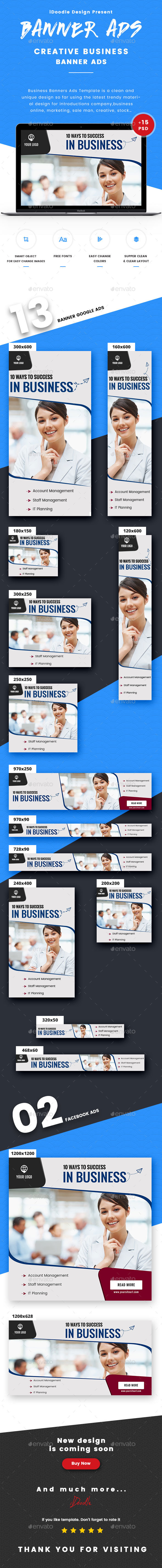 GraphicRiver Business Banners Ads 21009712
