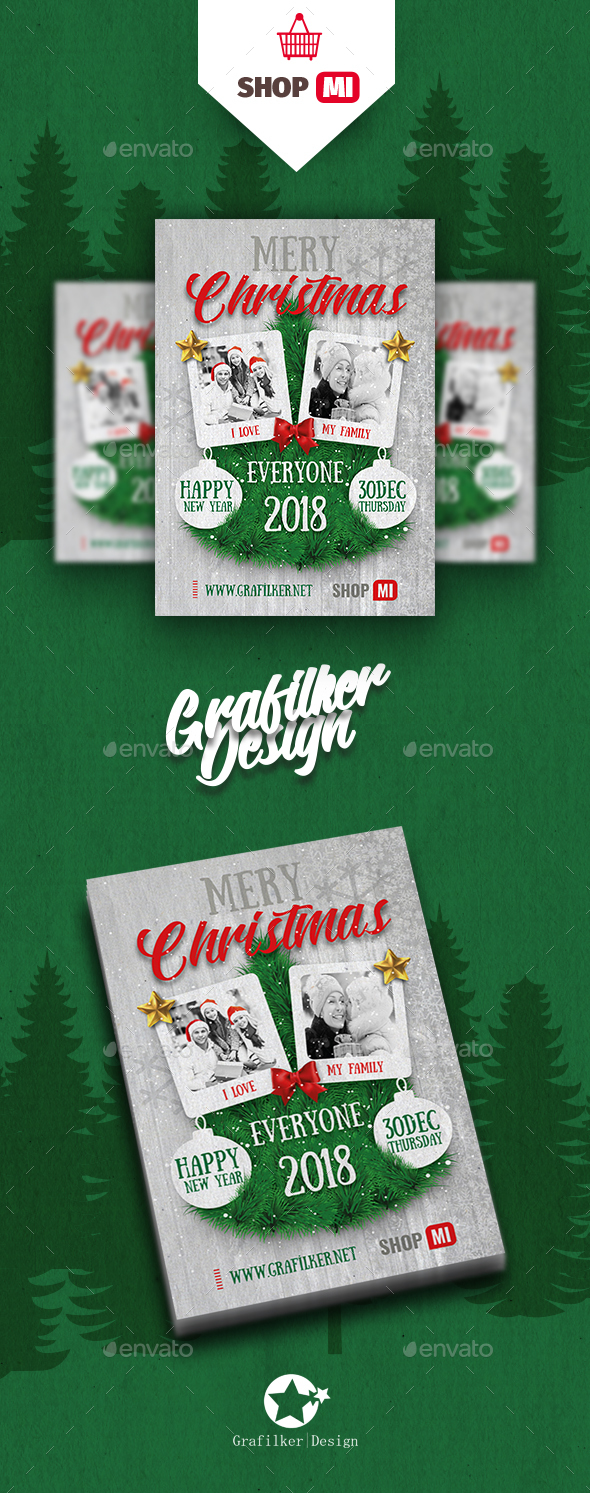 Christmas Flyer Templates - Events Flyers