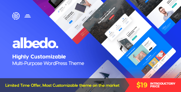 Albedo – Highly Customizable Multi-Purpose WordPress Theme            nulled