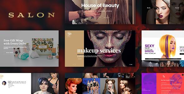 SALON - WordPress Theme for Hair & Beauty Salons